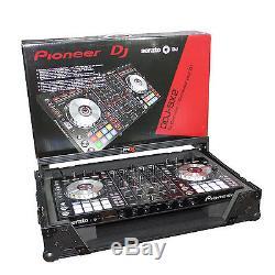 ProX XS-DDJSXWLTBL DDJ-SX / DDJ-SX2 PIONEER DJ FLIGHT ROAD CASE With LAPTOP SHELF