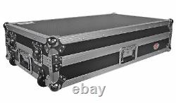 ProX XS-DDJSZWLT DJ Flight Case For Pioneer DDJ-SZ WithGliding Laptop Shelf+Wheels