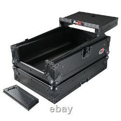 ProX XS-DJMS11LTBL Flight Case for Pioneer DJM-S11 Mixer with Laptop Shelf Black