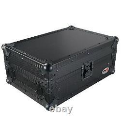 ProX XS-DJMS7LTBL Flight Case for Pioneer DJM-S7 Mixer with Laptop Shelf Black