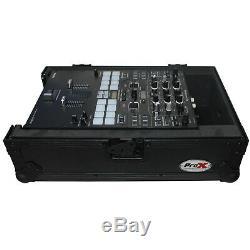 ProX XS-DJMS9BL ProX fits Pioneer DJM-S9 Mixer Flight DJ Case Black on Black