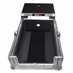 ProX XS-DJMS9LT Pioneer DJM-S9 Mixer Flight / Road Case with Sliding Laptop Shelf