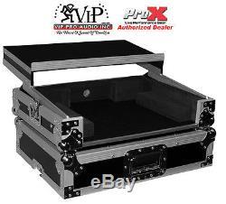 ProX XS-DNMC3000LTBL Denon DNMC3000 Digital Controller Flight Case wLaptop Shelf