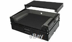 ProX XS-DNMC6000LTBL Travel Flight Case+Laptop Shelf 4 Denon MC6000/MC6000 MK2