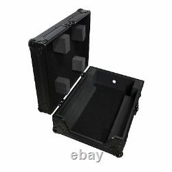ProX XS-M12 Flight Case for 12 In. Large Format DJ Mixers Universal Black