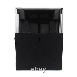 ProX XS-M12LT Large Format 12 DJ Mixer Case with Red TSA Lock