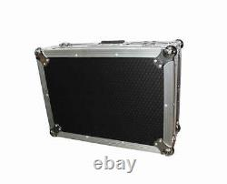 ProX XS-M12LT Universal 10 12 Mixer Case with Sliding Laptop Shelf