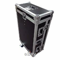 ProX XS-MIDM32RDHW Midas M32R ATA Flight Case Mixer Console with Doghouse & Wheels