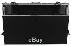 ProX XS-MIXDECK-WLT Numark Mixdeck Controller DJ Flight Case+Laptop Shelf/Wheels