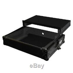 ProX XS-MIXDECKWLTBL Numark Mixdeck Quad ATA 300 Black Flight Case with Wheels