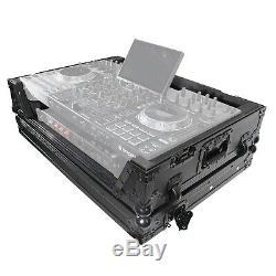 ProX XS-PRIME4 WBL Denon Prime 4 Black Road Case with Red TSA Lock