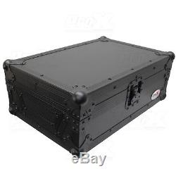 ProX XS-RANE72BL 11 DJ Mixer Road Case for Rane SeventyTwo 72 (Black on Black)