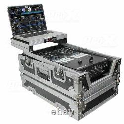 ProX XS-RANE72LT 11 DJ Mixer Road Case WithLaptop Shelffor Rane Seventy-Tw
