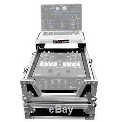 ProX XS-RANE72LT 11 Rane 72 DJ Mixer Road Case with Red TSA Lock