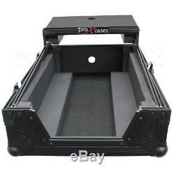 ProX XS-RANE72LTBL 11 Case, Laptop Shelf, Rane Seventy-Two DJ Mixer, Black/Black