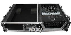 ProX XS-TMC1012W Flight Case with Wheels for Single Turntables+10/12 DJ Mixers