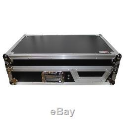 ProX XS-TMC1012W Turntable in Battle Mode & Single 10 or 12 Mixer Coffin Case