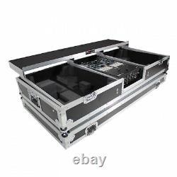 ProX XS-TMC1012WLTFBTL Flight Case For Rane 72 Mixer and 2 Turntables in Batt