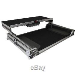 ProX XS-UXXLT DJ Controller Travel Flight Case+Laptop Shelf 4 DDJ-SX/NS6/Mixdeck