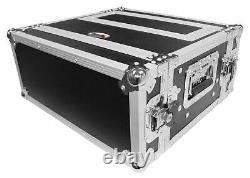 ProX XS-WM2U2DR 2U Rack Case+2U Rack Drawer For 19 Amplifier/Mixer/Mic Receiver