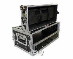 ProX XS-WM2U2DR Hardshell 2U Rack Flight Case with Drawer XSWM2U2DR