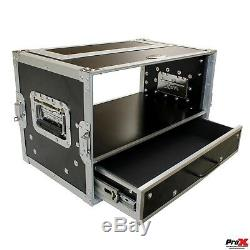 ProX XS-WM4U2DR 4U Flight Hard ATA Road Rack Case with 2U Drawer 14 deep