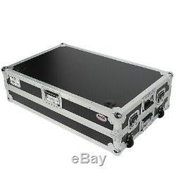 ProX XS-ZTABLE JR DJ Z-Table Junior Workstation Portable WithHandles & Wheels
