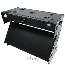 ProX XS-ZTABLEBL CTRL DJ Z-Table Workstation With wheels Fits Pioneer DDJ-1000/SX3