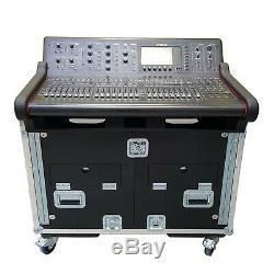 ProX XZ-FMID-M32 Flip-Ready Easy Retracting Hydraulic Lift Case for Midas M32