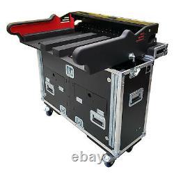 ProX XZF-MIDM32 Flip-Ready Easy Retracting Hydraulic Lift Case for Midas M32 C