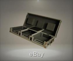 Professional DJ Coffin Case 12 For CD Turntables Mixer & Serato Interface