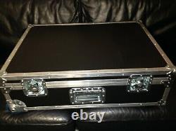 Professional trolley flight case instruments / performance / DJ mixer