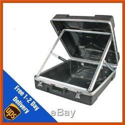 Pulse 19 12U ABS Mixer Flight Case For Rack Mount Mixing Desks