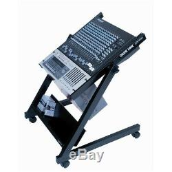 QuikLok RS-658 14-Space 14U Rack Stand withCasters Tilt Adjustable Quik Lok RS/658