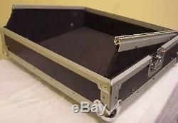 ROADINGER 8,5 HE 19 Mixercase schwarz Mixer DJ Case Mischpultcase Mischercase