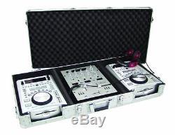 ROADINGER Konsole DIGI-1 für 1x 12 MIXER + 2x CD-PLAYER Konsolencase DJ-Case