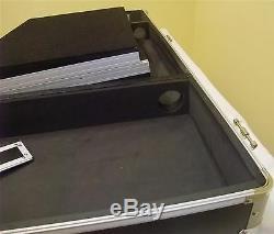 ROADINGER Konsole für 1x 19 Mixer + 2x CD-Player + Laptopablage DS-1 LS schwarz