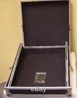 ROADINGER Mixer-Case Profi MCB-19, schräg, sw, 12 HE 19 Mischpult Mischer Case