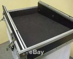 ROADINGER Mixer-Case Profi MCB-19, schräg, sw, 14 HE 19 Mischpult Mischer Case