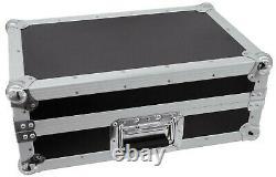 ROADINGER Mixer-Case Profi MCB-19, schräg, sw, 6 HE 19 Mischpult Mischer Case