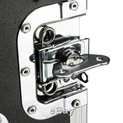 Rack Case 19 10U Single Layer Double Door DJ Mixer Speaker Equipment Cabinet