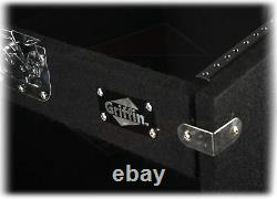 Rack Mount Cabinet Flight Case Studio Mixer DJ Booth Cart Stand AMP Stage Gear
