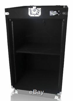 Rackmount 25U Studio Mixer Road Case DJ PA Flight Cabinet Stand Equipment