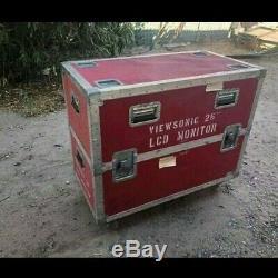 Road Case with Casters Flight Case on Wheels Heavy Duty DJ Equipment Case Rack C