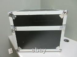 Road Runner M4URR Slant Mixer Rack Case / Vertical Rack Heavy Duty Hard Case