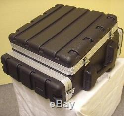 Roadinger 10/2/4 HE ABS-Hartschalen-Kombicase Winkelrack L-Rack Kunststoffrack