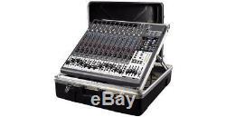 RockCase ABS Standard 19 Cady Rack Mixer 11HE-11U Black