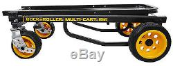 RocknRoller R16RT MultiCart R16 600lb Capacity DJ PA Equipment Transport Cart