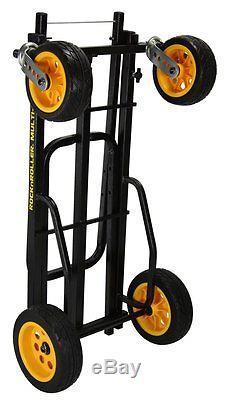 RocknRoller R18RT MultiCart R18 700lb Capacity DJ PA Equipment Transport Cart