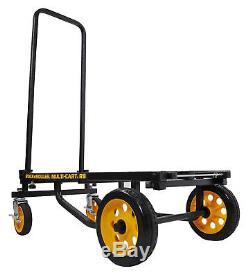 RocknRoller R8RT MultiCart R8 500lb Capacity DJ PA Equipment Transport Cart